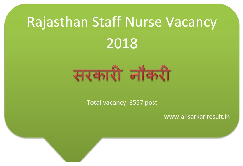 staff nurse 2018