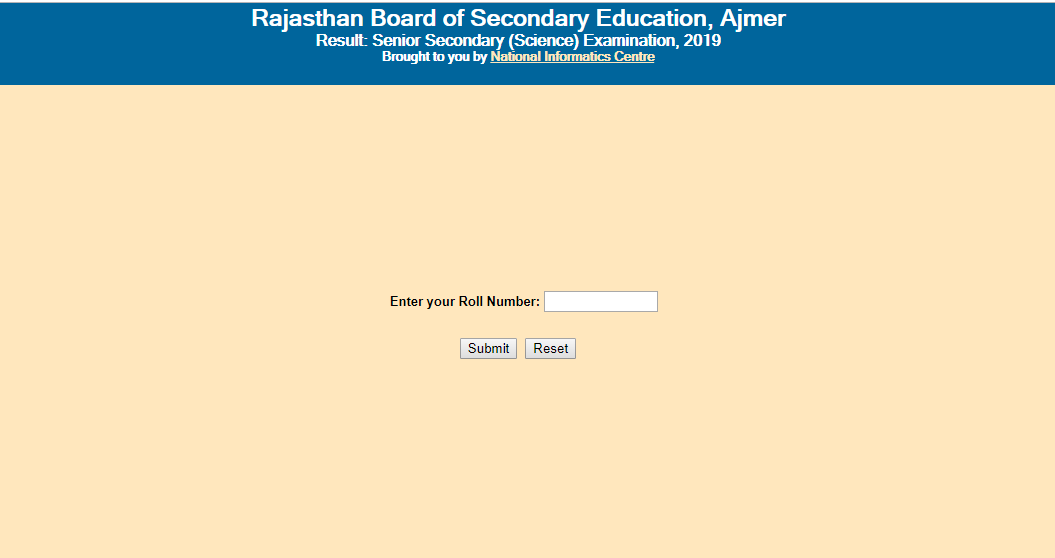 Rajasthan BSER Board 10th, Result 2019 declared check now 1
